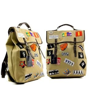 The Beatles Exclusive Patches Backpack